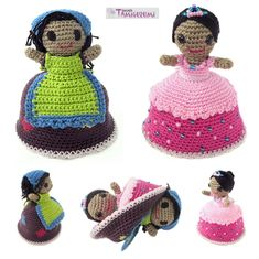 Tamigurumi: Inside every girl there is a princess (free pattern)