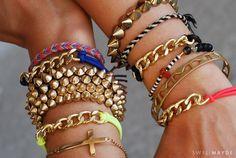 swellmayde: DIY | Chain Link Bracelet (Part 1)