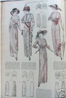 1913 fashions