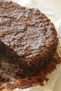 Wheat, Dairy, Egg & Pea-free Supermoist Chocolate Cake --> StoneSoup