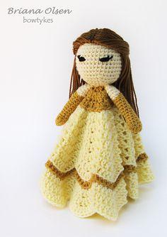 Princess Collection Lovey Blanket Topper Crochet Pattern