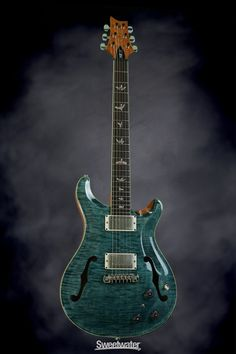 PRS Hollow body....sigh my dream guitar in blue crab blue