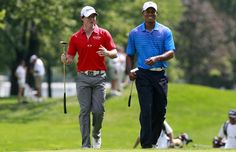 The 'Duel' between Rory McIlroy and Tiger Woods at the Jinsha lake on Oct. 29th. Go to watch online via Spondo at golf.com.au