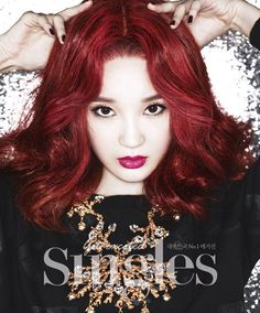 Davichi's Kang Min-kyung // Singles // September 2013