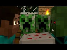"""""""I Baked a Cake Just for You"""" - A Surreal Minecraft Music Video - YouTube"""