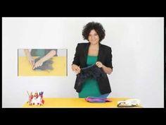 Tutorial: Astuccio porta-oggetti o mini-pochette (fabric pochette) [eng-sub] - YouTube