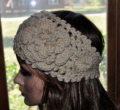 Crochet Ear Warmer Handmade