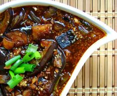 D o you like eggplant? I know there are either 'haters' or 'lovers' in each of us when it comes to eggplant. I love eggplant. My eggplant fa. Vegetarian Recipes, Cooking Recipes, Healthy Recipes, Japanese Eggplant Recipes, Ginger Sauce, Asian Recipes, Ethnic Recipes, Garlic Sauce, Spicy