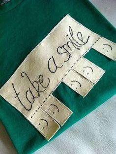 Heidi in Lederhosen Blog: Take a Smile T-Shirt Tutorial
