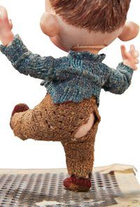 The Boxtrolls Baby Eggs Original Animation Puppet (LAIKA, A great camera-used replacement face puppet of - Available at 2015 February 12 The Art of. Clay Animation, Laika Studios, Kubo And The Two Strings, Movie Characters, Stop Motion, Tim Burton, Character Design Inspiration, Model Trains, Puppets