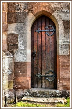 Vicarage Door, Arley Church. Looks like my front door.