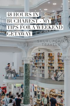 Are you traveling to Bucharest for a weekend? This itinerary will help to get the most out of your 48 hours tip: sightseeing, places to eat and drink etc. English Books For Kids, Take Better Photos, Old Ones, Bucharest, Plan Your Trip, Great Books, Weekend Getaways, Places To Eat, Romania