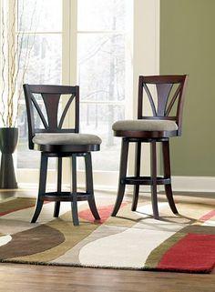Chairs, Gideon Swivel Barstool, Chairs   Havertys Furniture