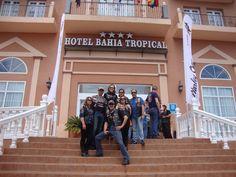 Concentración de Harley-Davison en Hotel Bahía Tropical
