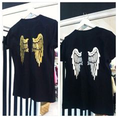 angel t-shirt by 13Thirteen New born