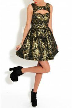 Baroque Sweetheart Prom Dress - SALE