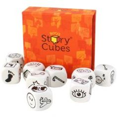 Rory's Story Cubes - the perfect gift for an aspiring writer. You can be geeky about writing, right?