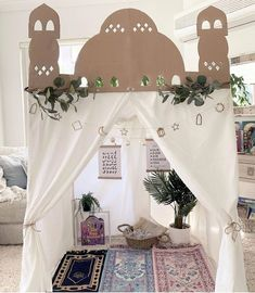 Ramadan play masjid mosque decor decoration reflections advent calendar ideas islam muslim home beautiful display art creative activities crafts homeschool parenting kids basket books reads Ramadan Activities, Ramadan Crafts, Creative Activities, Decoraciones Ramadan, Prayer Corner, Islamic Decor, Islam For Kids, Prayer Room, Islam Muslim