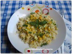 Takarékos konyha: Kukoricás-bazsalikomos tészta