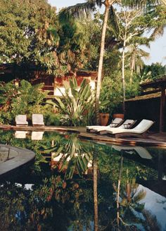 The pool at Trancoso's newest hotel, Uxua.