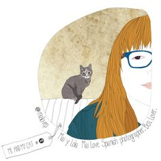 mailovep me and my cat by @Amada