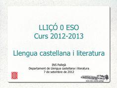 Liçó 0 castellà by webinspalleja via slideshare