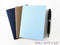 """Monthly BULLET JOURNAL Set of 3 with Calendars, 2 SIZES Available: 5.625"""" x 4.25"""" or 8.25"""" x 5""""- Organizer •Dot Grid Pages• Notebook Planner"""