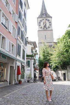Switzerland Vacation, Pattern Mixing, Zurich