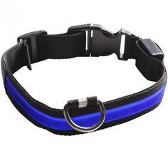 Prezzi e Sconti: #Eyenimal collare luminoso blu : collare s  ad Euro 9.02 in #Bauzaar #Guinzaglieria