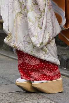 Maiko's kimono