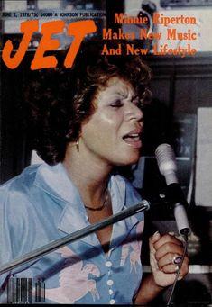 Jet Magazine... Minnie Riperton, 1978