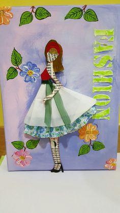 Cuadro coleccion figurines 2, realizado por Alicia Miguel en Manualidades El Cascabel, se hacen por encargo.