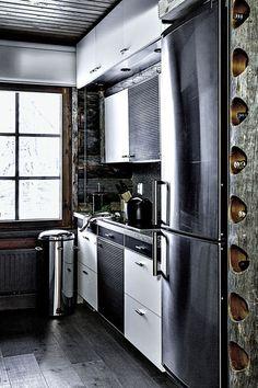 hirsimökki keittiö