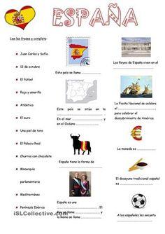 Algunos elementos sobre Espana - Trabajos ELE