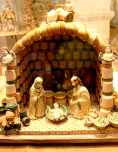 The Nativity Show (Mostra del #Presepe) takes place in #Grottaglie, in the province of #Taranto, #Apulia. The exhibition is displayed annually in December. #AriaLuxuryApulia #LuxuryHolidayVillaPuglia