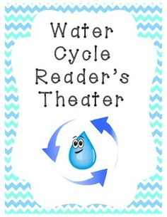 Reader's Theater on the Water Cycle: Explains condensation, precipitation, evaporation, transpiration, groundwater