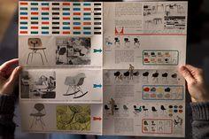Vintage 1951 Herman Miller Eames Furniture brochure