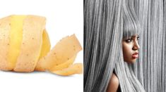 Potato peels have important nutrients that can help to deal with grey hair effectively. Try these simple remedies and get rid of grey hair easily. Natural Hair Serum, Grey Hair Remedies, Grey Hair Treatment, Premature Grey Hair, Hair Issues, How To Grow Eyebrows, How To Lighten Hair, Peeling Potatoes, Fall Hair
