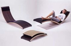 Spoiled Moden Folding Chair......yes, this actually looks comfy.........