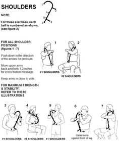 26 Best Physiotherapy Exercises For Shoulder images in