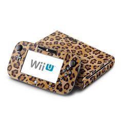 SAVE $4.92 - #DecalGirl Decorative Skin/Decal for Nintendo Wii U - Leopard Spots $20.07