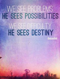 Undaunted | Christine Caine #quote