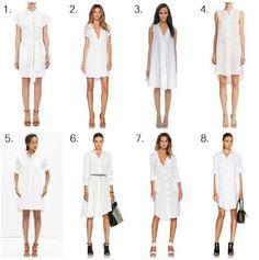 Videndaessential: The White Shirtdress