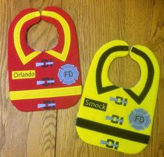 Hey, I found this really awesome Etsy listing at https://www.etsy.com/listing/237778953/firefighter-baby-bibs-with-name