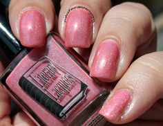 Confessions of a Sarcastic Mom: Literary Lacquers Strawberry Ice Cream Soma swatches+review