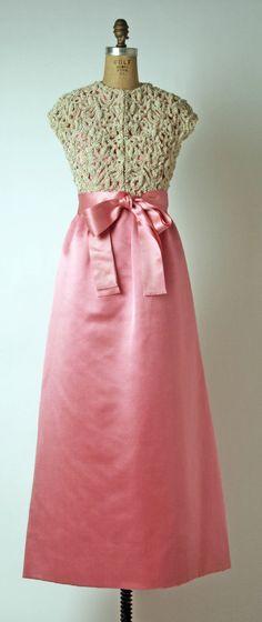 Evening Dress Hubert de Givenchy, 1965 The Metropolitan Museum of Art