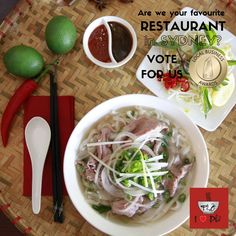 Show us your LOVE...and let people know we have a great authentic Vietnamese food in North Shore <3 <3 <3 VOTE here: https://thebusinessawards.com.au/business/10888/I-Love-Pho-Restaurant