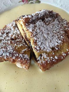 Pofesen mit Vanillesoß Fes, Pancakes, Desserts, Sweet Stories, Crepes, Deserts, Pancake, Dessert, Postres