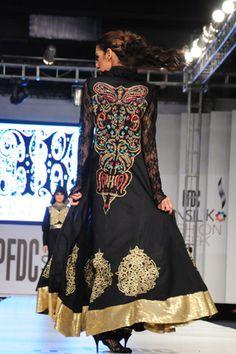 Akif Mahmood showcased his Spring/Summer 2012 womenswear collection at day 2 of PFDC Sunsilk Fashion Week 2012.
