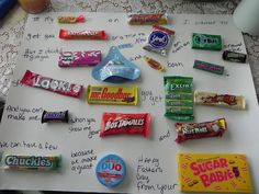 Fathers Day candy card, from the wife. A Southern Belle with Northern Roots